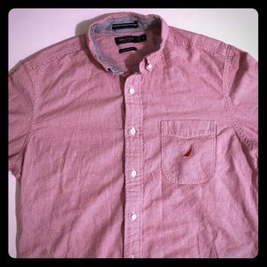 Nautica button-down vibrant shirt